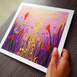 peinture acrylique toile