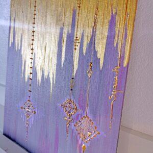 peinture acrylique art berbère amazigh